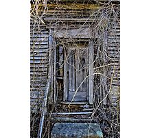 The Door To Nowhere Photographic Print
