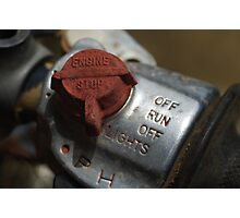 Kill switch Photographic Print