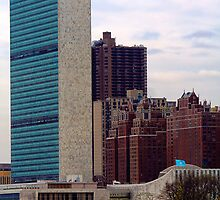 UN and Tudor City by Judith Oppenheimer