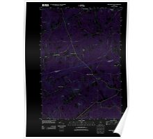 Maine USGS Historical Map Snow Mountain 20110909 TM Inversion Poster