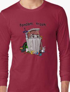 Fandom Trash Logo Long Sleeve T-Shirt