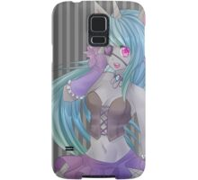 Creepy Cute unicorn girl Samsung Galaxy Case/Skin