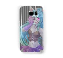 Creepy Cute unicorn girl Samsung Galaxy Case/Skin