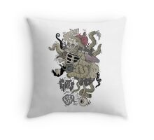 Icky stuff Throw Pillow