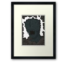 Clicker Framed Print