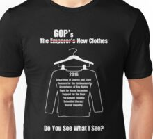 The GOP's New Clothes Unisex T-Shirt