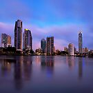 Gold Coast Skyline by Kirk  Hille