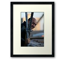 He is the one Framed Print