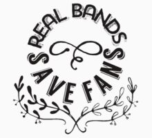 Real Bands Save Fans One Piece - Short Sleeve