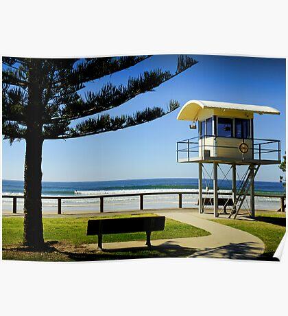 Lifeguard tower Poster