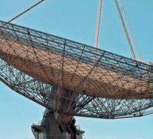 RadioTelescope. Parks Australia. Sticker