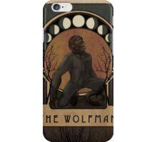 Wolfman Nouveau iPhone Case/Skin