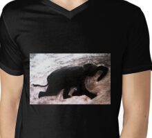 T-Swimming Elephant!! Mens V-Neck T-Shirt