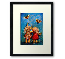 Forever Friends Framed Print