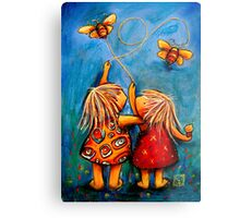 Forever Friends Metal Print
