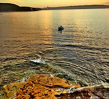 Fisherman - Balmoral Beach - The HDR Series by Philip Johnson