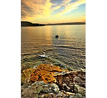 Fisherman - Balmoral Beach - The HDR Series Photographic Print
