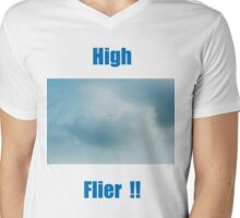 High Flyer!! Mens V-Neck T-Shirt