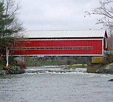 The Red Bridge by marchello
