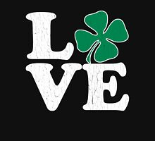Cute! Love St. Patty's Day (vintage distressed look) Womens Fitted T-Shirt