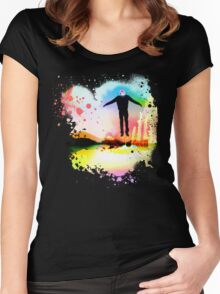 The Psychedelic Zombie Women's Fitted Scoop T-Shirt