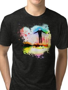 The Psychedelic Zombie Tri-blend T-Shirt