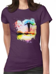 The Psychedelic Zombie Womens Fitted T-Shirt