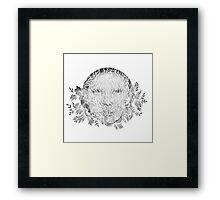 Veil Framed Print