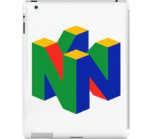 Nintendo 64 iPad Case/Skin