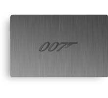James Bond- 007 iphone case Canvas Print