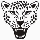 Roaring leopard by Designzz