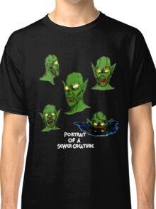 Portrait Of A Sewer Creature Classic T-Shirt