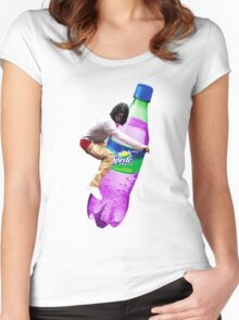 dirty sprite chief keef Women's Fitted Scoop T-Shirt