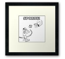 All In One Sports Framed Print