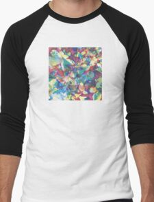 Caribou 'Our Love' album print Men's Baseball ¾ T-Shirt