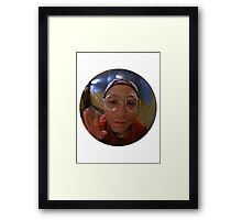 The Reverse Peephole Framed Print