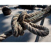 Knotty 11 Photographic Print