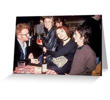90s London Britpop Greeting Card