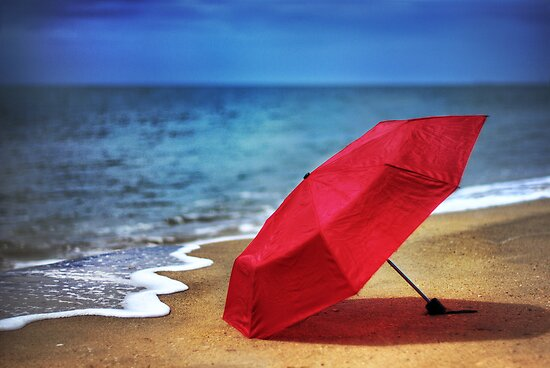 Red Umbrella  by Ben Ryan