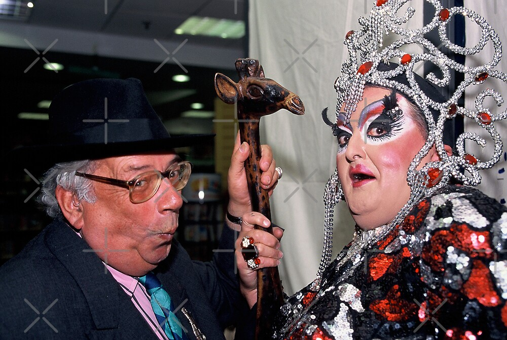 George Melley & Drag Queen by MarkYoung
