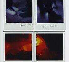 Autoportant - Polaroids by Pascale Baud