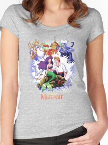 The Little Mutant Women's Fitted Scoop T-Shirt
