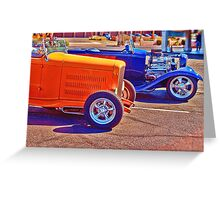 Streetrods Greeting Card