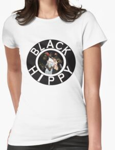 Black Hippy Womens Fitted T-Shirt