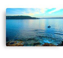 Solitary - Balmoral Beach - The HDR Series Canvas Print
