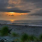 The Last Light on Hokitika by Larry Lingard-Davis