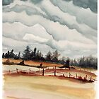 western oregon landscape by resonanteye