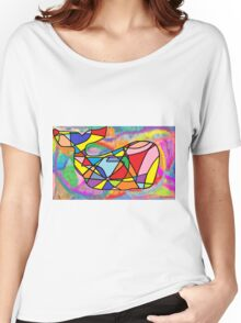 Rainbow Whale in a Sea of Dreams Women's Relaxed Fit T-Shirt