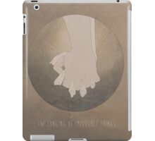 The Longing of Impossible Things. iPad Case/Skin