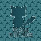 Fox Welcome to the Woods by Doreen Erhardt